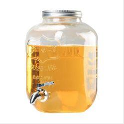 La pulvérisation personnalisé couleur Clear Square distributeur de boissons commerciales