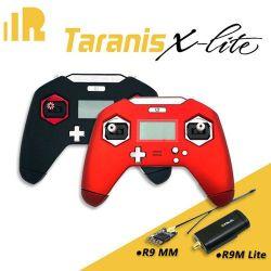 جهاز إرسال Frsky Taranis X-Lite Control مع R9m Lite + R9 مجموعة MM لسباقات FPV RC Racing من دون طيار