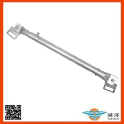端保護塀システムのためのCuplockの足場システム調節可能な鋼鉄水平の元帳