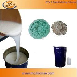 Caoutchouc de silicone liquide pour plâtre Corniche de moulage moule/RTV de moules