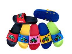7 de Zool van EVA van kleuren met de Verschillende Aangepaste Hogere Pantoffel van pvc