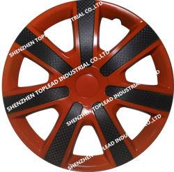Installation facile de ABS universelle Bicolor cache central du moyeu de roue de voiture