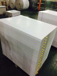 250gsm tamanhos de papel para impressão em offset Branco revestido Placa Duplex com cinza de volta