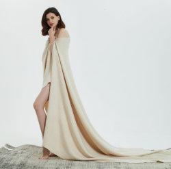 Женские Fashion Luxe шерсть кашемира одеяло с малым проекционным расстоянием