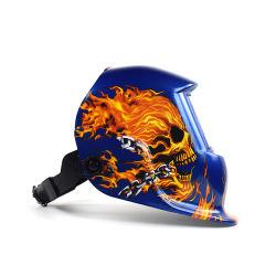 중국제 용접 헬멧 가면은 자동적인 가벼운 변화 유리를 보호한다