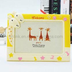 아크릴 Giraffe 사진 프레임 플렉시 유리 사진 프레임 DIY 종이 카탈로그 선물 사진 액자 디스플레이