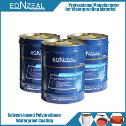 Base de aceite/disolvente único componente material de revestimiento impermeable de poliuretano PU