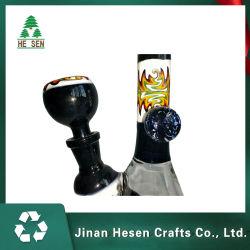 Los proveedores chinos Pipa de Vidrio Cristal de narguile con neumáticos dobles