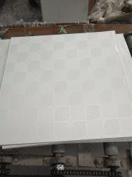 Linyi 알루미늄 호일 역행을%s 가진 PVC에 의하여 박판으로 만들어지는 석고 천장 널