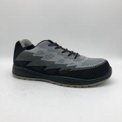 Material respirável Sport Fashion trabalhando couro Calçado de segurança
