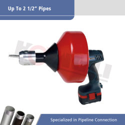 2 1/2inch Hongliの便利なクリーニングのツール0-550rpmの下水管の洗剤(D-62B)