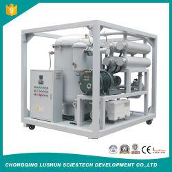 Lushunの輸出業者6000 Liters/Hの二重の段階の真空の変圧器の油純化器