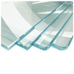 China Factory Limpar vidro colorido temperado emissividade de energia baixa e Louvre Toughed Vidro Temperado Vidro da janela
