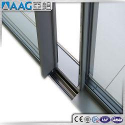 De Schuifdeuren en de Vensters van het Aluminium van de Groep van het Aluminium van Azië met thermisch-Gebroken en Enig Profiel