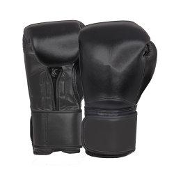 De Bokshandschoenen die van uitstekende kwaliteit het Echte Leer van het Embleem van de Douane opleiden ontwerpen Uw Eigen Bokshandschoenen