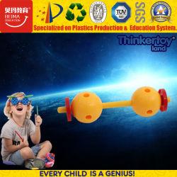 2017 Kids bricolage inteligente Mini flores de plástico brinquedo de construção superior