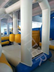 Gran colorido en el interior de bienvenida juegos inflables castillo saltar de la casa de rebote