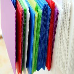 PP hueco de la junta de plástico corrugado flauta Sheet 1220*2440mm 1-12mm