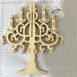 Ornamento d'attaccatura di scultura di legno Handmade all'ingrosso dell'albero di natale del mestiere per natale e la decorazione domestica