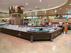 カウンターデリでの商業サービス、フィッシュコールドフード、シーフードなどがある