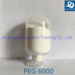 화학 조력자로 이용되는 산업 급료 폴리에틸렌 글리콜 6000