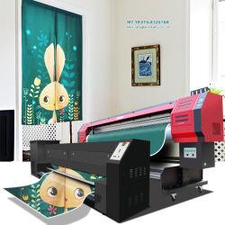 El mejor precio directo de Digital de gran formato efecto 3D de tejido a máquina de impresión por sublimación
