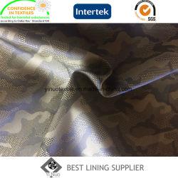 De Stof van de Voering van de Jacquard van de camouflage voor de Vrijetijdskleding van het Jasje van Mensen