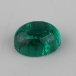 Il colore verde smeraldo della Colombia di alta qualità modella Cabochon lo smeraldo idrotermale