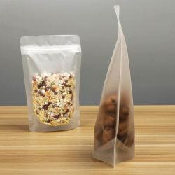カスタム食品等級はジッパーロックの透過明確なプラスチック食糧袋の丸薬コンドームのプラスティック容器のための包装のアルミホイルの磨き粉のパッケージ袋を立てる