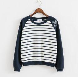 Женских пряжи Вся обшивочная ткань ткань свитер кофта Реглан гильзы