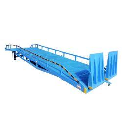 Móvil Tuhe rampa de carga hidráulica de la rampa de patio de contenedores para la venta