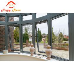 Happyroom fenêtres à battants en aluminium/aluminium de pivotement de la conception de la fenêtre de verre