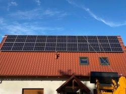 430W 72 م 96 م لوحة السقف الشمسية السعر مع التحويل صندوق وصلة إمداد طاقة العاكس للطاقة الشمسية بقدرة 420 واط بقدرة 440 واط 450 واط