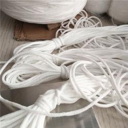 Cavo elastico rotondo di bianco 3mm Facemask Earloop del fornitore