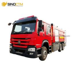 Hot Price Sinotruk HOWO marca 10m3 6*4 camiones de bomberos en el mercado de África