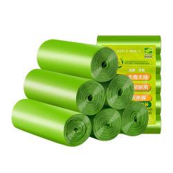 Der 1.2 Gallonen-können kleine Abfall-Beutel-Abfall-Beutel, mini kompostierbarer starker Badezimmer-Papierkorb Zwischenlage-Abfall-Beutel für Innenministerium-Küche 5 Liter 5L, 1 Gallone, Grün befestigen