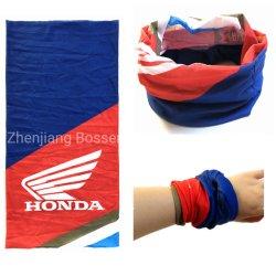 Sciarpa tubolare della fascia del collo multiuso elastico promozionale del poliestere di marchio personalizzata OEM