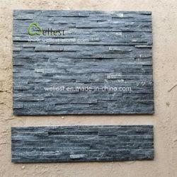 Beige/rosa/blanco/amarillo/verde/Rústico/ negro de la cultura de cuarcita de Revestimiento de pared de piedra
