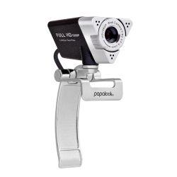 Ausdom Papalook Plug and Play Mise au point manuelle réglable HD 1080P USB Webcam avec microphone pour la vidéo Enregistrement de la Conférence de Chatter