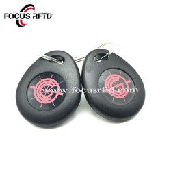 Étiquette RFID en plastique TK4100 Porte-clé pour lecteur de contrôle d'accès