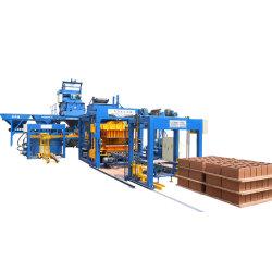 Qt10-15 Bloquear la máquina de hielo automática Concret Automatico de cemento ladrillo Js750q el mezclador en Chile
