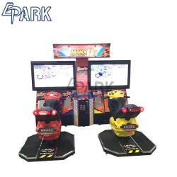 """Écran LCD 42"""" Arcade Racing Motor Machine de jeu pour deux joueurs"""