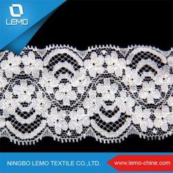 Banheira de venda de licra de nylon tricotado Stretch Lace Trim