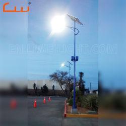 Venta de panel PV 50W 60W de potencia de luz solar calle LED