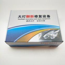 Nuevo diseño de restauración de faros de coche Kit Limpiador de la luz de la máquina de revestimiento de reparación de los faros de coche
