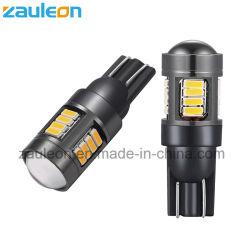 T10 194 LED Birnen-bernsteinfarbiges Gelb für Auto-Innenlichter, LED-Platten-Licht, Drehung-Signal-Licht-Ecklichter