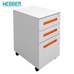 Armoire avec socle mobile des données de fichier des armoires métalliques pour Office