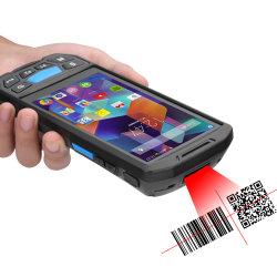De draagbare Industriële Androïde PDA Scanner van de Streepjescode van de rfid- Lezer met Vertoning