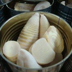 Las conservas de brote de bambú en salmuera puede todo brote de bambú