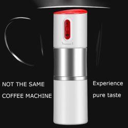 Nouvelle tous dans une machine à café de plein air au goutte à goutte de la conception de voiture USB portable moulin à café/ café américain